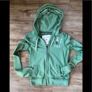 Abercrombie and Fitch hooded sweatshirt and a Sz M